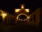 Antigua at night