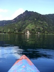 "A view of the ""Indians Nose"" from my kayak"