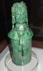 Mayan jade carved decorative container