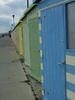 Beach huts in Seaford