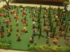Coffee picking in miniature
