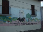 Mural in remembrance of Monsenor Romero