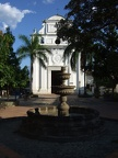 The colonial era catholic church Jesus of Nazareth in Santa Fe de Antioquia