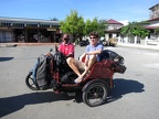 Becak ride in Banda Aceh