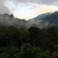 Twilight view of the Gunung Leuser national park