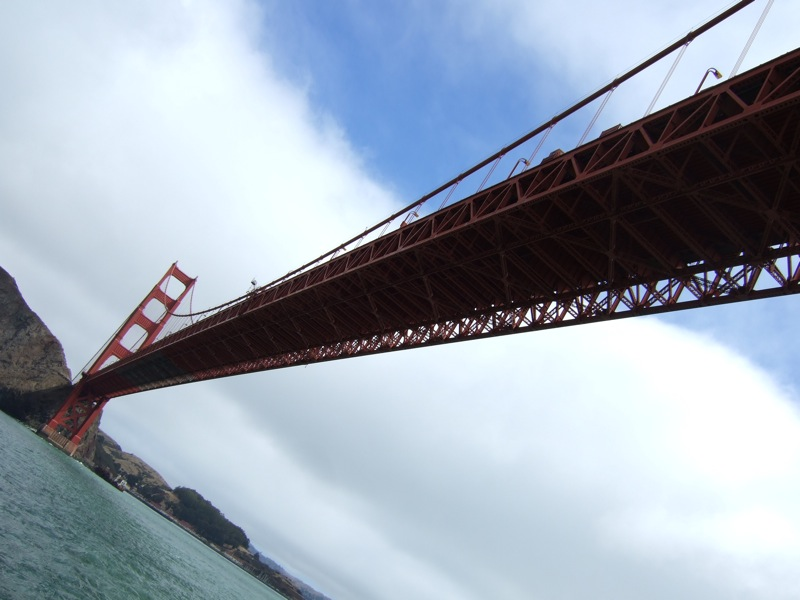 The Golden Gate Bridge of course!