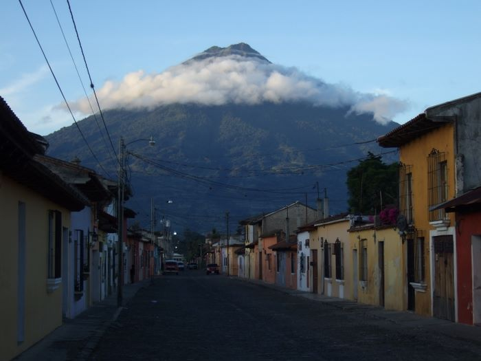 Streets of Antigua, early morning