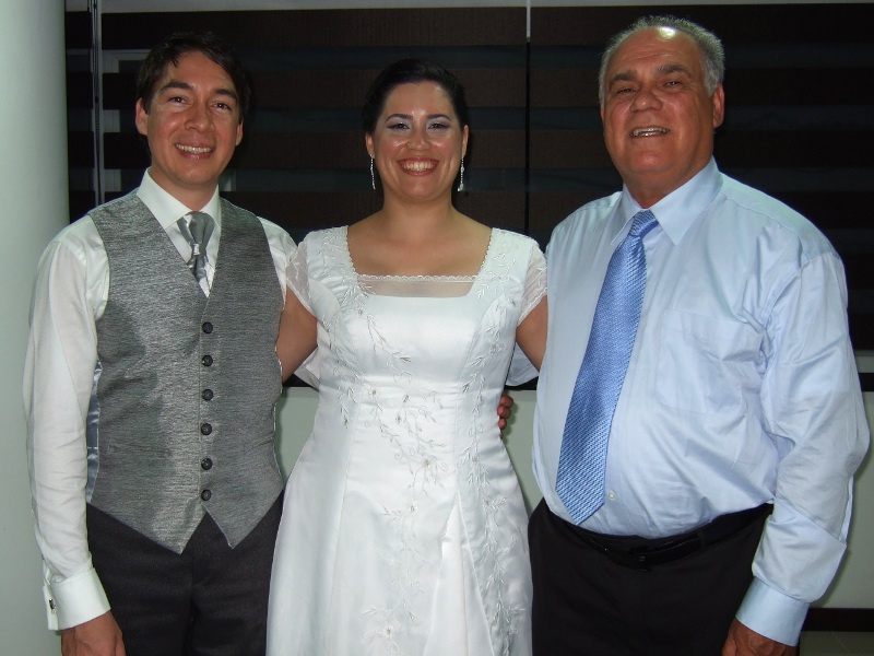Diego, Carolina and her father